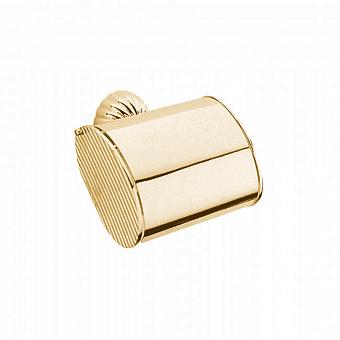 Держатель для туалетной бумаги Bongio Radiant, цвет: золото 24к.