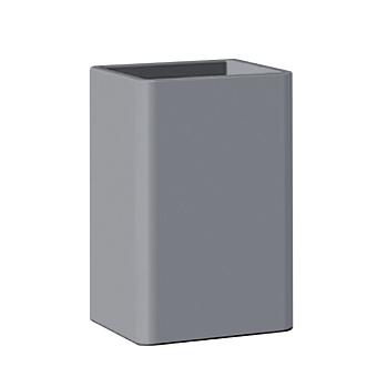 Bertocci Fly Стакан из композита, настольный, цвет: серый