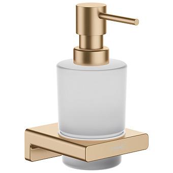 Hansgrohe AddStoris Диспенсер для жидкого мыла, цвет: шлифованная бронза