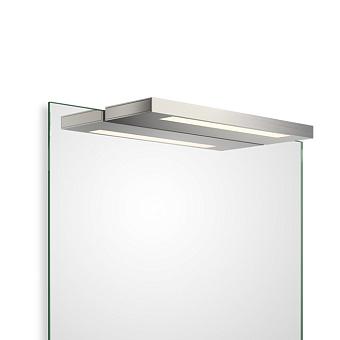 Decor Walther Slim 1-34 N LED Светильник на зеркало 34x10x2см, светодиодный, 1x LED 16.4W, цвет: никель сатинированный