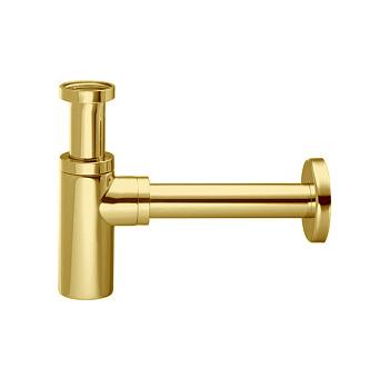 Carlo Frattini Sottolavabo Сифон дизайнерский для раковины, цвет: золото
