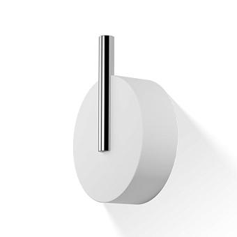 Decor Walther Stone WHG Крючок, цвет: белый / хром