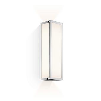Decor Walther Bauhaus 1 N LED Светильник настенный 8x9x30см, светодиодный, 2x LED 6.4W, цвет: хром