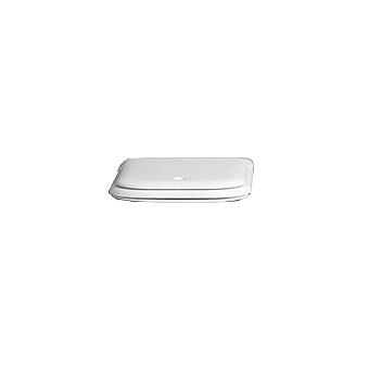 Agape Memory Сиденье для унитаза с плавным опусканием, цвет: матовый белый