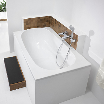 Hoesch Oriental Ванна встраиваемая 150х80х60см, с гидромассажем Tergum, цвет: белый