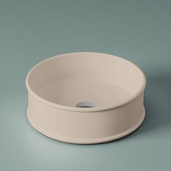 Artceram Atelier Раковина 44 см, без отв., накладная, без перелива, цвет: matera
