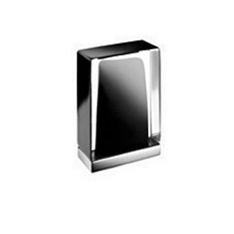 Fantini Venezia Ручка для смесителя, муранское стекло, цвет: хром-черный