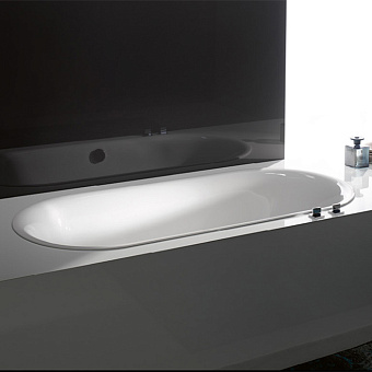 Bette Lux Oval Ванна встраиваемая 190x90x45 см, BetteGlasur ® Plus, цвет: белый