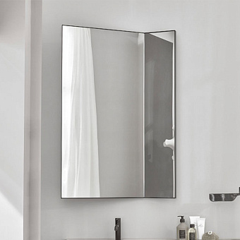 Cielo Arcadia Pan Зеркало без светодиодной подсветки, цвет: Matt Black