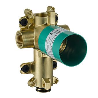 Axor ShowerCollection Скрытая часть для запорного/ переключающего вентиля Trio 12x12, цвет: хром