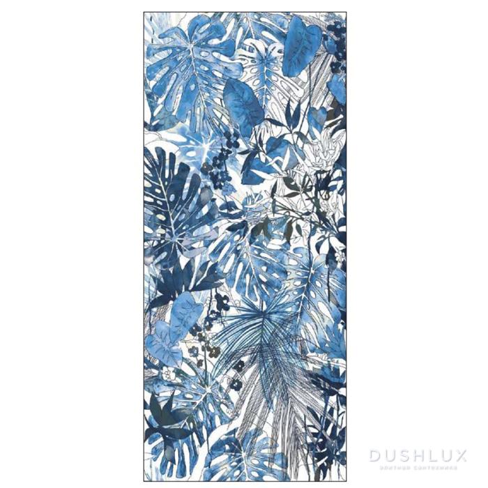 Ornamenta Operae Керамическая плитка 120х278см, настенная, декор: Flora Equatoriale Blue