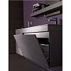 Karol Manhattan comp. №4, комплект подвесной мебели 140 см. цвет: Rovere Cenere