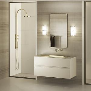 Мебель для ванной комнаты Armani Roca Island
