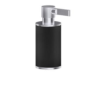 Gessi Inciso Дозатор для жидкого мыла настольный, цвет: черный/finox