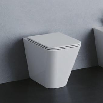Azzurra Build Унитаз напольный 55х36х42см., слив универсальный, цвет: белый