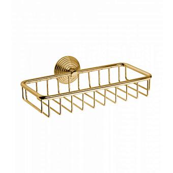 Полочка подвесная Bongio Impero, цвет: золото 24к.