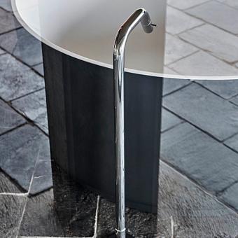 Agape Memory Однорычажный смеситель для ванны, напольный, цвет: хром