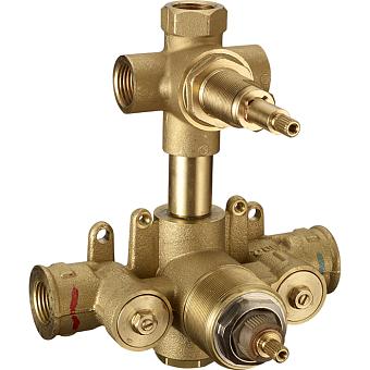 CISAL Встраиваемая часть термостатического смесителя с переключателем на 3 положения, ZA01920004