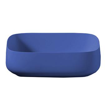 Artceram COGNAC Раковина Quadro 56x41 см, настольная, цвет: blu zaffiro