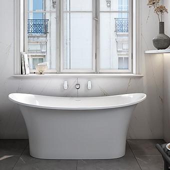 Victoria+Albert Toulouse Ванна 151.9х74.4х64.5см., отдельностоящая, цвет: белый матовый