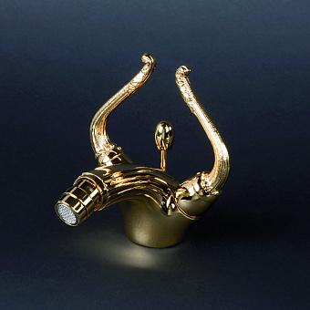 Cristal et Bronze Saint-Honore Смеситель для биде, цвет золото 24 к.