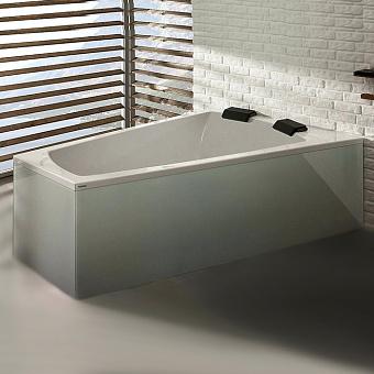 Hoesch Largo Ванна встраиваемая 180х140х66см, DX, цвет: белый