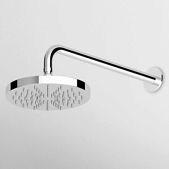 Zucchetti Savoir Верхний душ, Ø40см, настенный монтаж 35см., цвет: хром