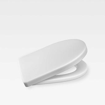 Armani Roca Island Сиденье для унитаза, с микролифтом, лакированное, цвет: off-white