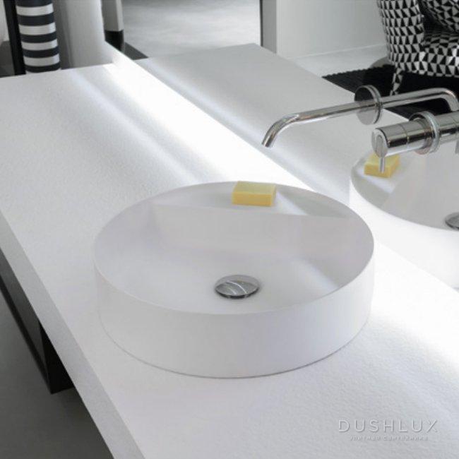 Antonio Lupi Simplo Раковина 45х45х11 см, без отв., цвет: белый