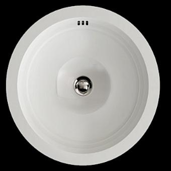 Devon&Devon Babylon Раковина керамическая   встраиваемая под столешницу d415, h 205 мм, цвет: белый