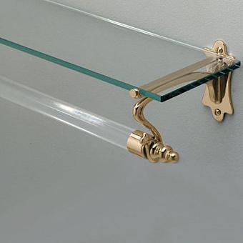 Devon&Devon Mayfair Полотенцедержатель с полочкой, подвесной монтаж, цвет: золото
