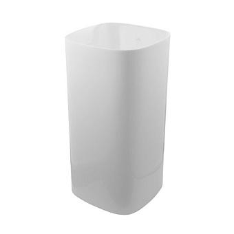 """Noken Arquitect Раковина 90х42 см, 1 отв., напольная, без перелива, донный клапан """"clicker"""", цвет: белый матовый"""