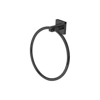 StilHaus Urania Полотенцедержатель-кольцо, подвесной, цвет: чёрный матовый