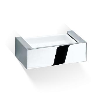 Decor Walther Brick WSS Мыльница подвесная, фарфор белый, цвет: хром
