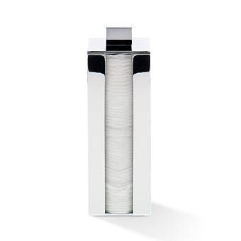 Decor Walther Cube DW 3680 Диспенсер ватных дисков, настольный, цвет: хром