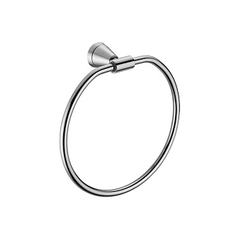 Stella 130 Полотенцедержатель кольцо, настенный, цвет: хром