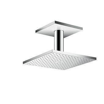 Axor ShowerSolution Верхний душ, 250x250мм, 1jet, с держателем 100мм, потолочный монтаж, цвет: хром
