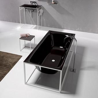 Bette Lux SHAPE Ванна отдельностоящая 180x80x45 см, покрыта эмалью снаружи и изнутри, BetteGlasur® Plus, цвет: черный
