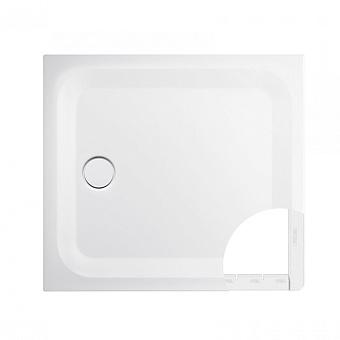 BETTE ULTRA Душевой поддон квадратный 100х100 см, с полистироловой опорой EPS, с отв-м слива d=90мм, с шумоизоляцией, цвет: белый