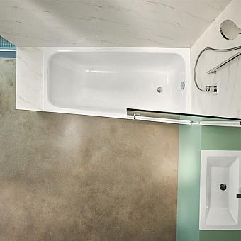 Bette Space M Ванна встраиваемая 170х90х42 см, с шумоизоляцией, правосторонняя, цвет: белый
