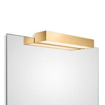 Decor Walther Box 1-40 N LED Светильник на зеркало 40x10x5см, светодиодный, 1x LED 20.6W, цвет: золото матовое