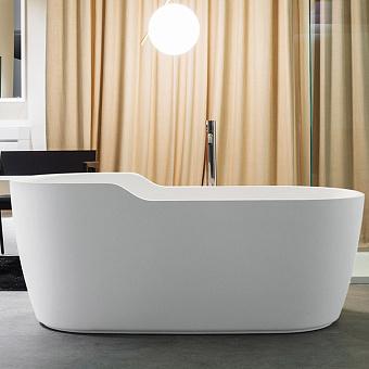 Antonio Lupi Funny West Ванна отдельностоящая 151х80х60см, цвет: белый