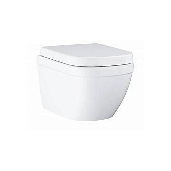 Grohe Euro Ceramic Унитаз 54x37 см, слив в стену, подвесной, цвет: белый