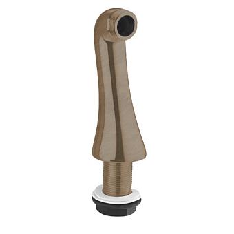 Gattoni Accessori Ножка для установки смесителя (требуется 2 шт)на борт ванны, h125мм, цвет бронза