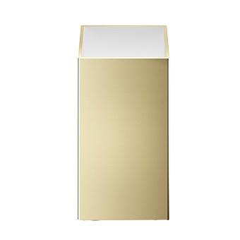Decor Walther Cube DW 352 Баночка универсальная 4x4x8см, цвет: золото
