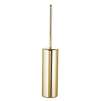 3SC Guy Туалетный ёршик, напольный, с длинной ручкой, цвет: золото 24к. Lucido