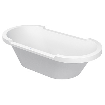 Duravit STARCK Ванна акриловая встраиваемая 1900x900 mm, с 2 наклонами  для спины, цвет белый
