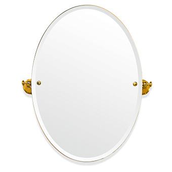 TW Harmony 021, вращающееся зеркало овальное 56*8*h66, цвет держателя: золото