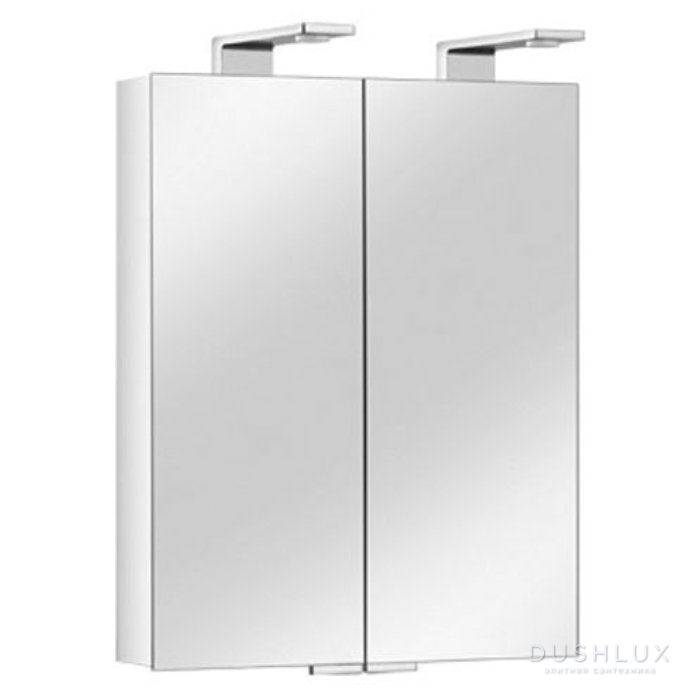 Keuco Royal Universe Зеркальный шкаф с подсветкой 650х752х143 мм, Цвет: Белый