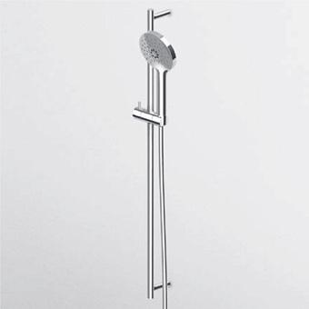 Zucchetti IsyStick Душевая стойка, с ручным душем и шлагом 150см, цвет: хром